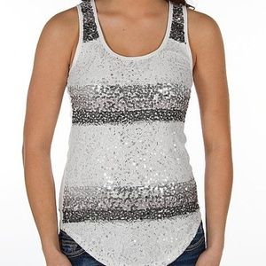 Day Trip X-Small Sequin Tank